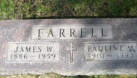 FARRELL, PAULINE M. - Dawes County, Nebraska | PAULINE M. FARRELL - Nebraska Gravestone Photos