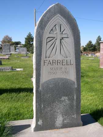 FARRELL, MARIE H. - Dawes County, Nebraska | MARIE H. FARRELL - Nebraska Gravestone Photos