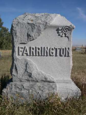 FARRINGTON, FAMILY - Dawes County, Nebraska | FAMILY FARRINGTON - Nebraska Gravestone Photos
