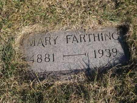 FARTHING, MARY - Dawes County, Nebraska   MARY FARTHING - Nebraska Gravestone Photos