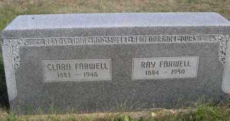 FARWELL, CLARA - Dawes County, Nebraska | CLARA FARWELL - Nebraska Gravestone Photos