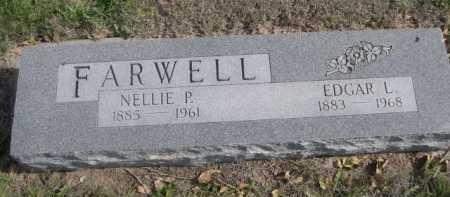 FARWELL, EDGAR L. - Dawes County, Nebraska | EDGAR L. FARWELL - Nebraska Gravestone Photos