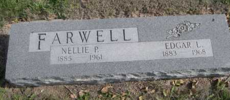 FARWELL, NELLIE P. - Dawes County, Nebraska | NELLIE P. FARWELL - Nebraska Gravestone Photos