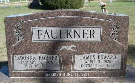 FAULKNER, JAMES EDWARD - Dawes County, Nebraska | JAMES EDWARD FAULKNER - Nebraska Gravestone Photos