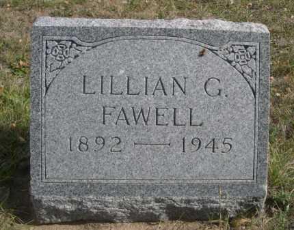 FAWELL, LILLIAN G. - Dawes County, Nebraska   LILLIAN G. FAWELL - Nebraska Gravestone Photos