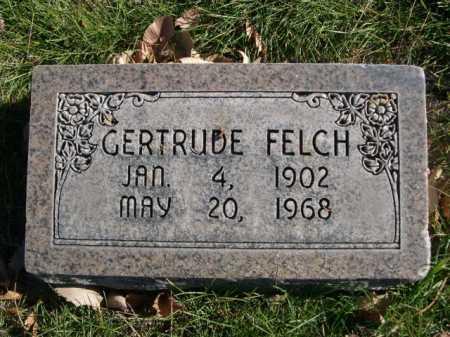 FELCH, GERTRUDE - Dawes County, Nebraska | GERTRUDE FELCH - Nebraska Gravestone Photos