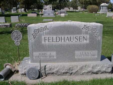 FELDHAUSEN, LAURA C. - Dawes County, Nebraska | LAURA C. FELDHAUSEN - Nebraska Gravestone Photos