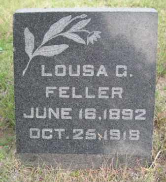 FELLER, LOUSA G. - Dawes County, Nebraska | LOUSA G. FELLER - Nebraska Gravestone Photos