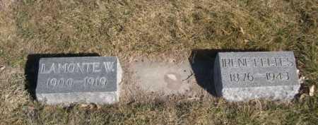 FELTES, IRENE - Dawes County, Nebraska   IRENE FELTES - Nebraska Gravestone Photos