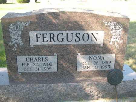 FERGUSON, CHARLES - Dawes County, Nebraska | CHARLES FERGUSON - Nebraska Gravestone Photos