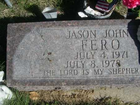 FERO, JASON JOHN - Dawes County, Nebraska | JASON JOHN FERO - Nebraska Gravestone Photos