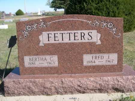 FETTERS, BERTHA C. - Dawes County, Nebraska | BERTHA C. FETTERS - Nebraska Gravestone Photos