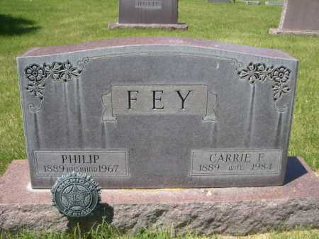 FEY, CARRIE F. - Dawes County, Nebraska | CARRIE F. FEY - Nebraska Gravestone Photos