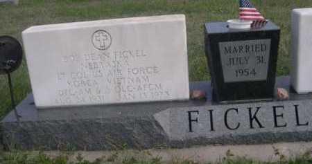 FICKEL, BOB DEAN - Dawes County, Nebraska | BOB DEAN FICKEL - Nebraska Gravestone Photos