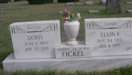 FICKEL, DORIS - Dawes County, Nebraska | DORIS FICKEL - Nebraska Gravestone Photos