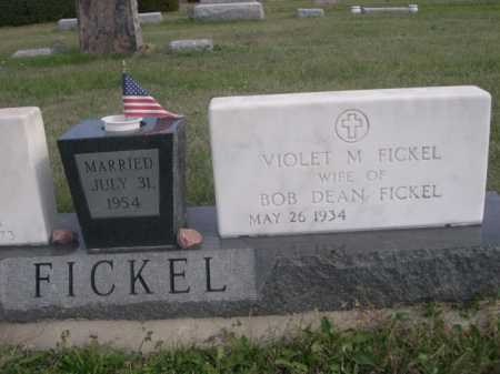 FICKEL, VIOLET M. - Dawes County, Nebraska | VIOLET M. FICKEL - Nebraska Gravestone Photos