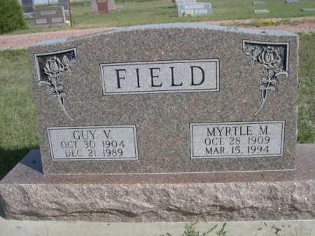 FIELD, MYRTLE M. - Dawes County, Nebraska | MYRTLE M. FIELD - Nebraska Gravestone Photos