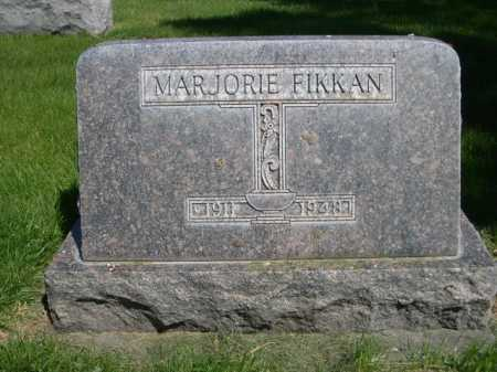 FIKKAN, MARJORIE - Dawes County, Nebraska | MARJORIE FIKKAN - Nebraska Gravestone Photos