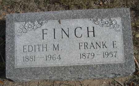 FINCH, FRANK F. - Dawes County, Nebraska | FRANK F. FINCH - Nebraska Gravestone Photos