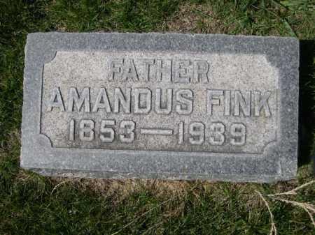 FINK, AMANDUS - Dawes County, Nebraska   AMANDUS FINK - Nebraska Gravestone Photos
