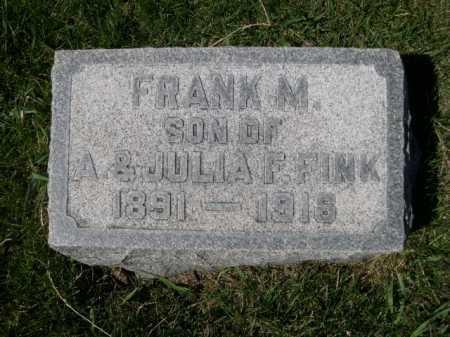 FINK, FRANK M. - Dawes County, Nebraska   FRANK M. FINK - Nebraska Gravestone Photos