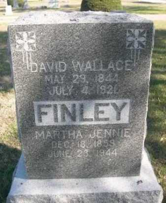 FINLEY, DAVID WALLACE - Dawes County, Nebraska | DAVID WALLACE FINLEY - Nebraska Gravestone Photos