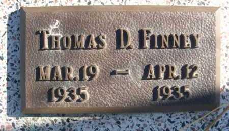FINNEY, THOMAS D. - Dawes County, Nebraska | THOMAS D. FINNEY - Nebraska Gravestone Photos