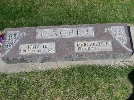 FISCHER, MARGARETE E - Dawes County, Nebraska   MARGARETE E FISCHER - Nebraska Gravestone Photos