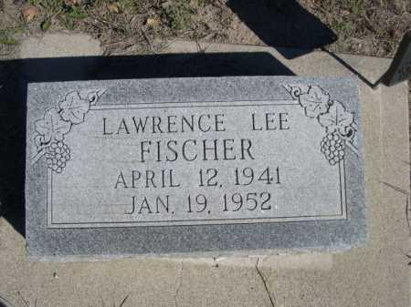 FISCHER, LAWRENCE LEE - Dawes County, Nebraska | LAWRENCE LEE FISCHER - Nebraska Gravestone Photos