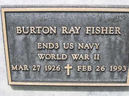 FISHER, BURTON RAY - Dawes County, Nebraska | BURTON RAY FISHER - Nebraska Gravestone Photos