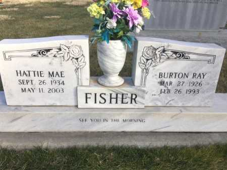 FISHER, BURTON RAY - Dawes County, Nebraska | BURTON RAY FISHER - Nebraska Gravestone Photos