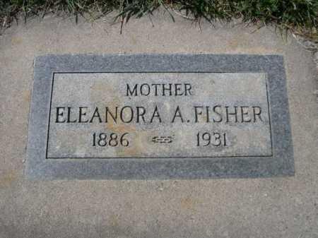 FISHER, ELEANORA A. - Dawes County, Nebraska   ELEANORA A. FISHER - Nebraska Gravestone Photos