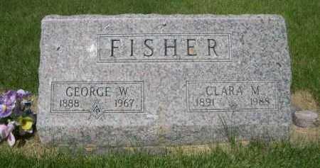 FISHER, CLARA M. - Dawes County, Nebraska | CLARA M. FISHER - Nebraska Gravestone Photos