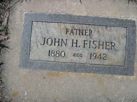FISHER, JOHN H. - Dawes County, Nebraska | JOHN H. FISHER - Nebraska Gravestone Photos