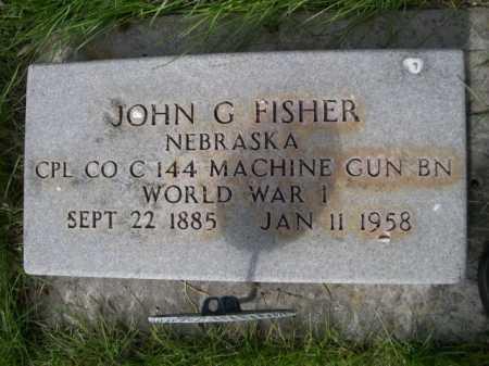 FISHER, JOHN G. - Dawes County, Nebraska | JOHN G. FISHER - Nebraska Gravestone Photos