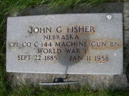 FISHER, JOHN G. - Dawes County, Nebraska | JOHN G. FISHER - Nebraska Gravestone Photos