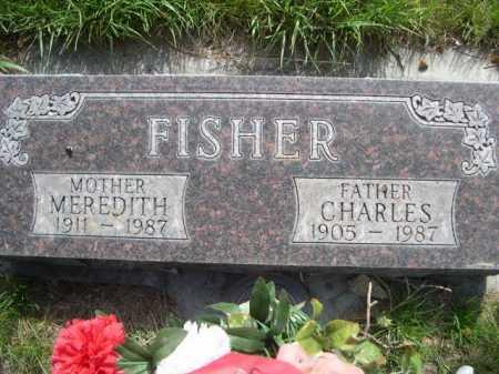 FISHER, MEREDITH - Dawes County, Nebraska | MEREDITH FISHER - Nebraska Gravestone Photos