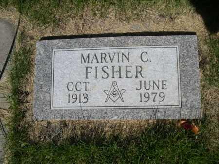 FISHER, MARVIN C. - Dawes County, Nebraska | MARVIN C. FISHER - Nebraska Gravestone Photos