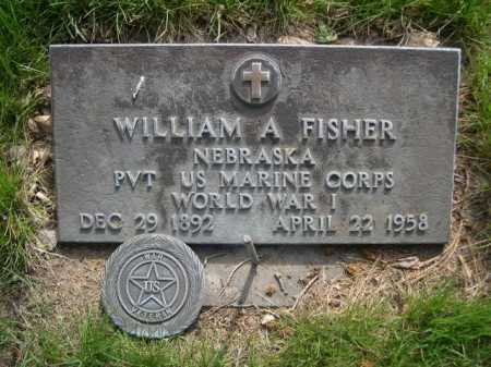 FISHER, WILLIAM A. - Dawes County, Nebraska | WILLIAM A. FISHER - Nebraska Gravestone Photos