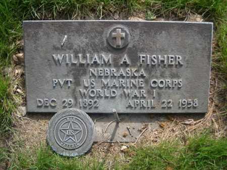 FISHER, WILLIAM A. - Dawes County, Nebraska   WILLIAM A. FISHER - Nebraska Gravestone Photos