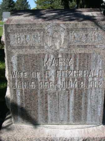 FITZGERALD, MARY - Dawes County, Nebraska | MARY FITZGERALD - Nebraska Gravestone Photos