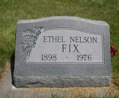 NELSON FIX, ETHEL - Dawes County, Nebraska | ETHEL NELSON FIX - Nebraska Gravestone Photos