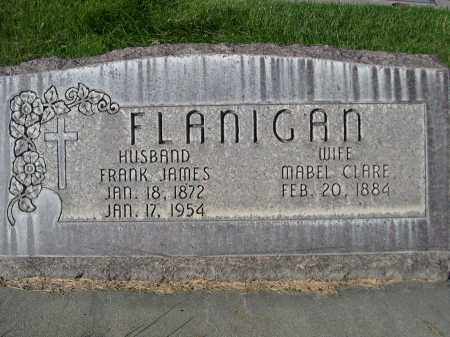 FLANIGAN, FRANK JAMES - Dawes County, Nebraska | FRANK JAMES FLANIGAN - Nebraska Gravestone Photos