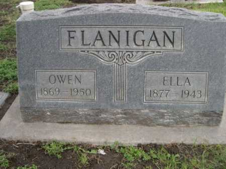 FLANIGAN, OWEN - Dawes County, Nebraska | OWEN FLANIGAN - Nebraska Gravestone Photos