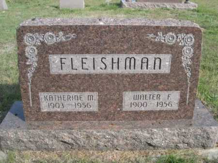 FLEISHMAN, WALTER F. - Dawes County, Nebraska | WALTER F. FLEISHMAN - Nebraska Gravestone Photos