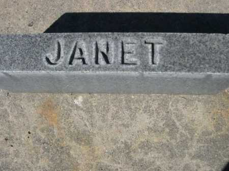 FLEMING, JANET - Dawes County, Nebraska   JANET FLEMING - Nebraska Gravestone Photos
