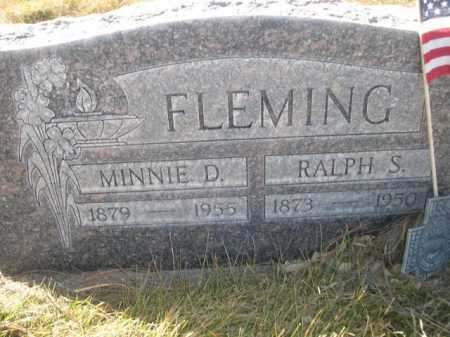 FLEMING, RALPH S. - Dawes County, Nebraska | RALPH S. FLEMING - Nebraska Gravestone Photos