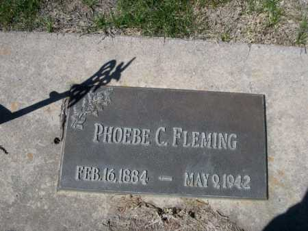 FLEMING, PHOEBE C. - Dawes County, Nebraska | PHOEBE C. FLEMING - Nebraska Gravestone Photos