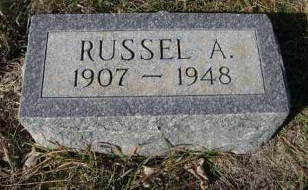 FLEMING, RUSSEL A. - Dawes County, Nebraska | RUSSEL A. FLEMING - Nebraska Gravestone Photos