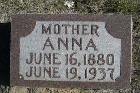 FLESHMAN, ANNA - Dawes County, Nebraska | ANNA FLESHMAN - Nebraska Gravestone Photos